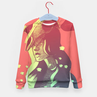 Miniatur Boho Chic Woman & Skull Kid's sweater, Live Heroes