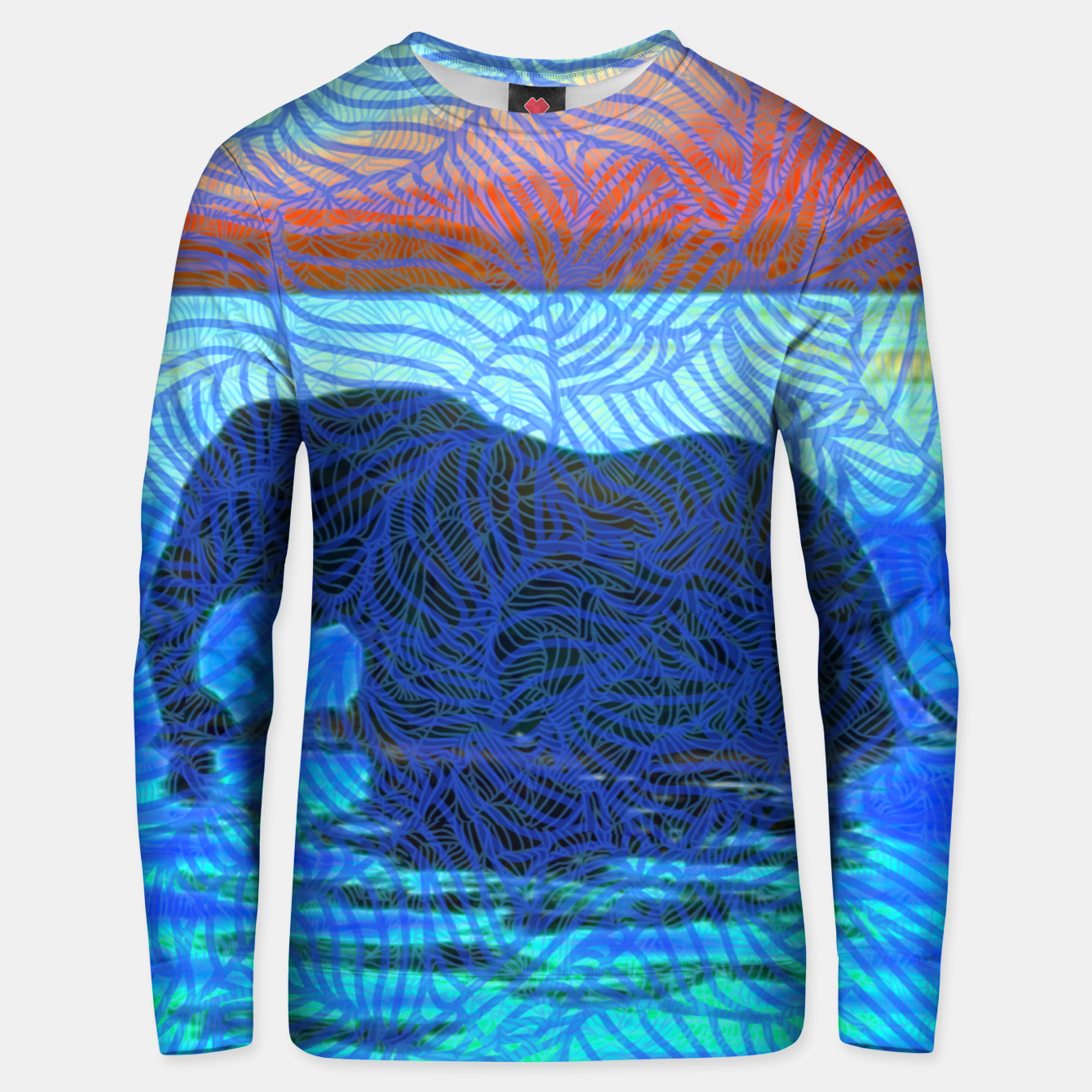 Image of 4F&M Unisex sweater - Live Heroes