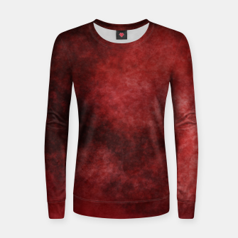 Thumbnail image of Red Clouds Women sweater, Live Heroes