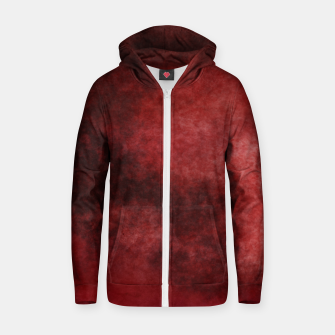 Thumbnail image of Red Clouds Zip up hoodie, Live Heroes
