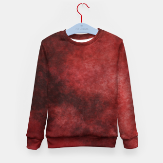Thumbnail image of Red Clouds Kid's sweater, Live Heroes