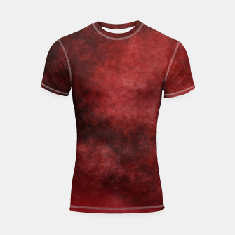 Thumbnail image of Red Clouds Shortsleeve rashguard, Live Heroes