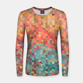 Miniature de image de Chaos Color Women sweater, Live Heroes