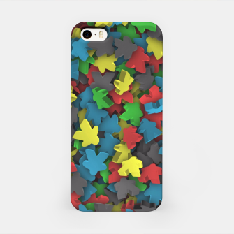 Meeples iPhone Case thumbnail image