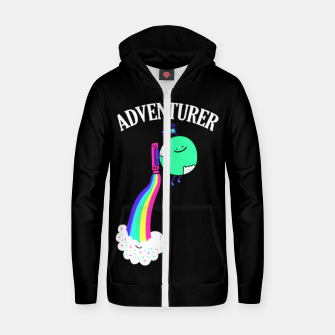 Miniaturka Adventurer Zip up hoodie, Live Heroes