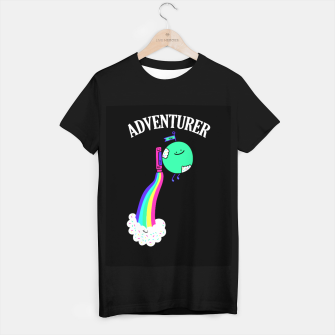 Adventurer T-shirt regular obraz miniatury