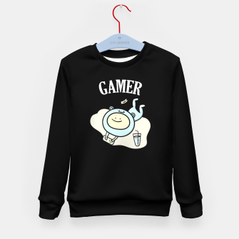 Miniaturka Gamer Kid's sweater, Live Heroes