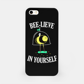Beelieve In Yourself iPhone Case obraz miniatury