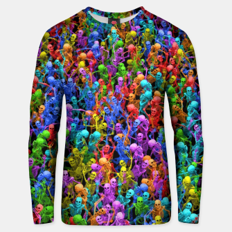 Thumbnail image of Dancing dead Unisex sweater, Live Heroes