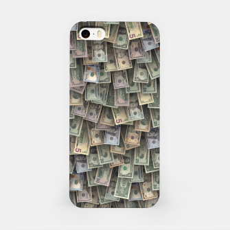 Miniatur US dollars all over cover iPhone Case, Live Heroes
