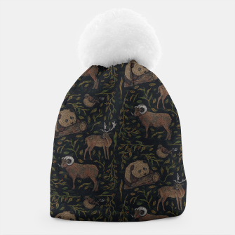 Thumbnail image of Four Peace Beanie, Live Heroes