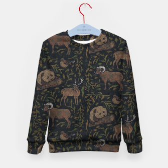 Thumbnail image of Four Peace Kid's sweater, Live Heroes