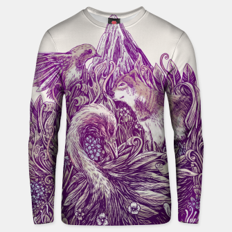 Thumbnail image of Peaceful Jungle Unisex sweater, Live Heroes