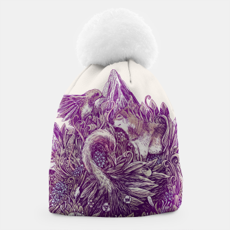 Thumbnail image of Peaceful Jungle Beanie, Live Heroes