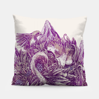 Thumbnail image of Peaceful Jungle Pillow, Live Heroes