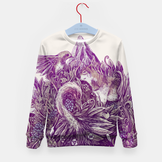 Thumbnail image of Peaceful Jungle Kid's sweater, Live Heroes