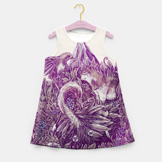 Thumbnail image of Peaceful Jungle Girl's summer dress, Live Heroes