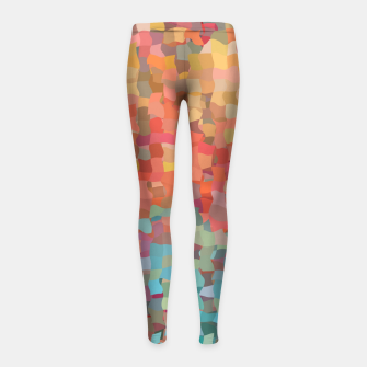 Miniature de image de Chaos Color Girl's leggings, Live Heroes
