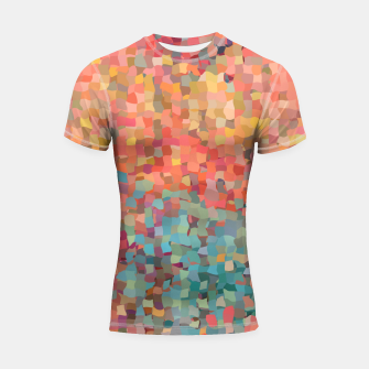 Thumbnail image of Chaos Color Shortsleeve rashguard, Live Heroes