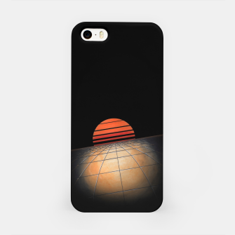 Thumbnail image of Sunset Grid iPhone Case, Live Heroes
