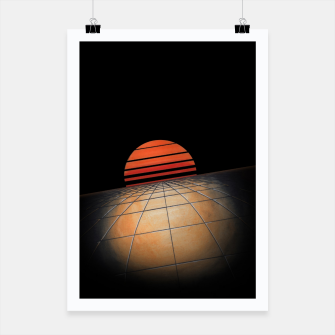 Thumbnail image of Sunset Grid Poster, Live Heroes
