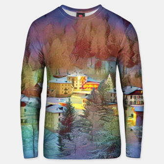 Thumbnail image of mountains in winter Bluza unisex, Live Heroes
