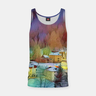 Thumbnail image of mountains in winter Tank Top, Live Heroes