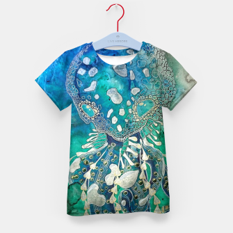 Thumbnail image of Space Jellyfish Kid's t-shirt, Live Heroes