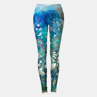 Space Jellyfish Leggings thumbnail image