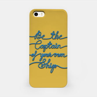 Miniaturka Be the Captain of your own Ship (Yellow and Blue) iPhone Case, Live Heroes