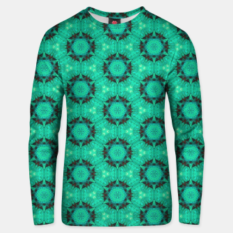 Miniature de image de Mint Hexagons and Stars Unisex sweater, Live Heroes