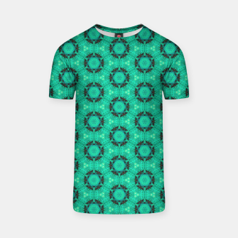 Miniature de image de Mint Hexagons and Stars T-shirt, Live Heroes