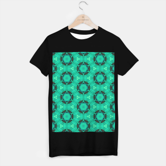 Miniaturka Mint Hexagons and Stars T-shirt regular, Live Heroes