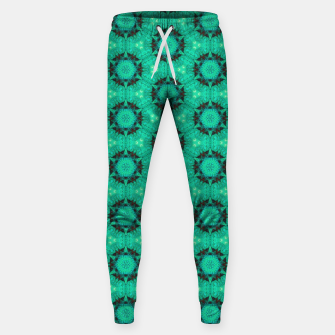 Miniature de image de Mint Hexagons and Stars Sweatpants, Live Heroes
