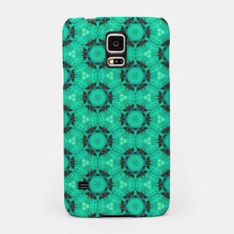 Miniaturka Mint Hexagons and Stars Samsung Case, Live Heroes