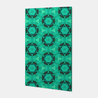 Miniature de image de Mint Hexagons and Stars Canvas, Live Heroes