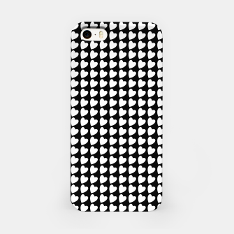 Thumbnail image of Heart Pattern Black and White iPhone Case, Live Heroes