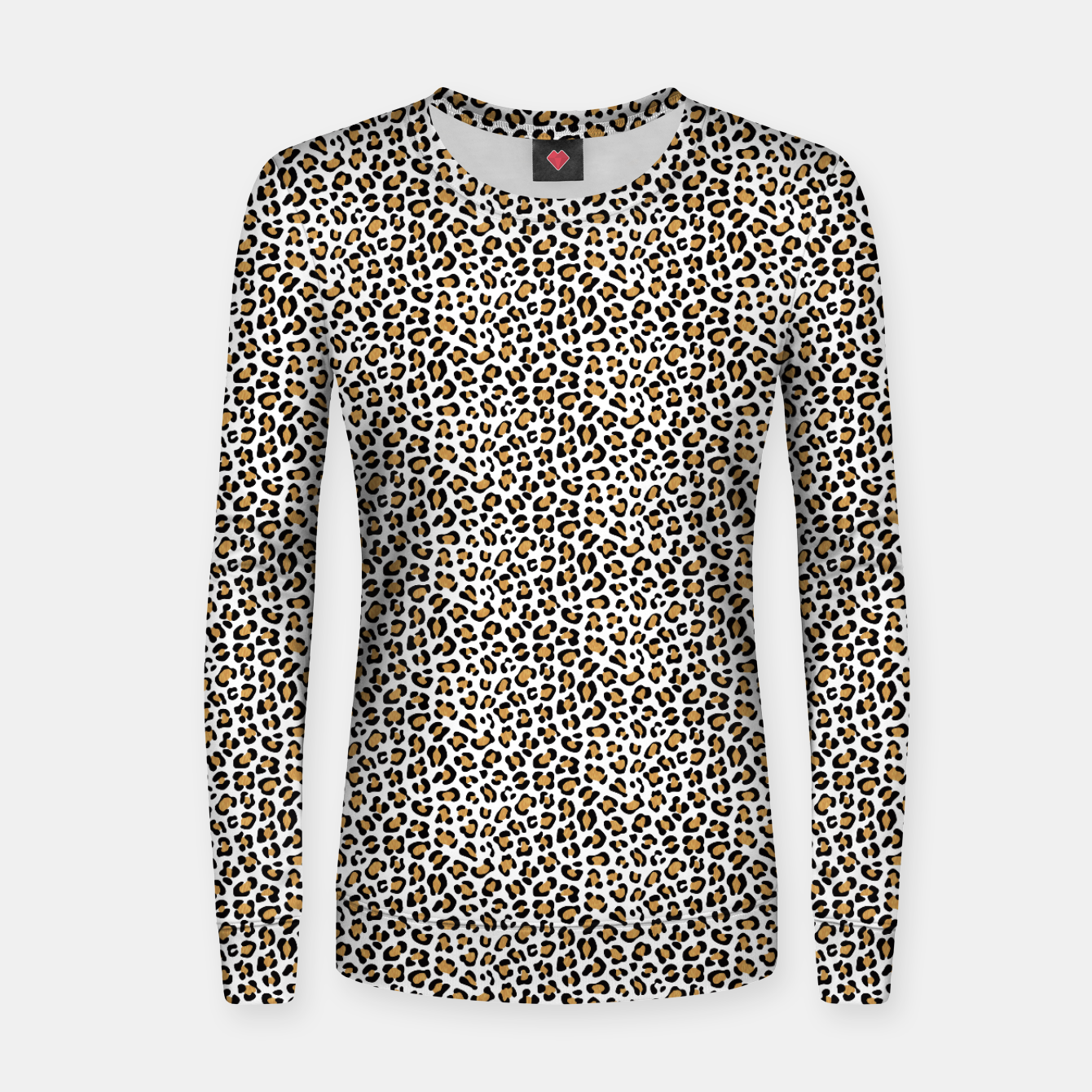 Imagen de Leopard Print - Background White Sudadera para mujeres - Live Heroes