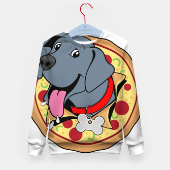 Thumbnail image of Pupperoni Pizza Kid's sweater, Live Heroes