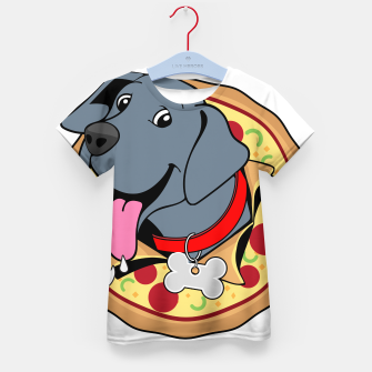 Thumbnail image of Pupperoni Pizza Kid's t-shirt, Live Heroes