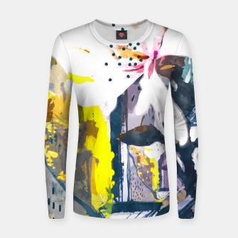 Thumbnail image of Summer Painting Women sweater, Live Heroes