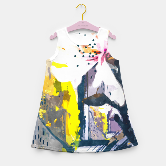 Thumbnail image of Summer Painting Girl's summer dress, Live Heroes
