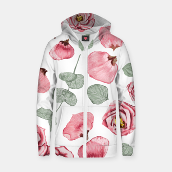 Thumbnail image of Rosy Romance Zip up hoodie, Live Heroes