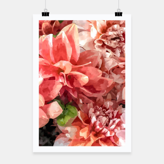 Thumbnail image of Beauty in Dahlia Poster, Live Heroes