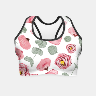 Thumbnail image of Rosy Romance Crop Top, Live Heroes