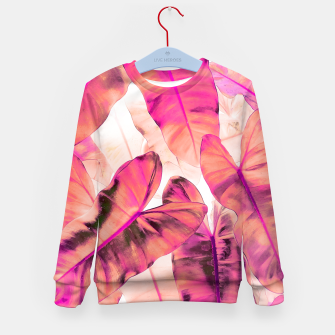 Thumbnail image of Pink Nirvana Kid's sweater, Live Heroes