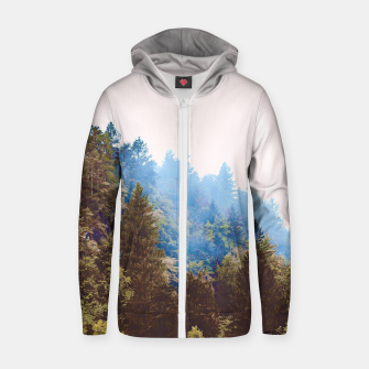 Thumbnail image of Up The Hill Zip up hoodie, Live Heroes