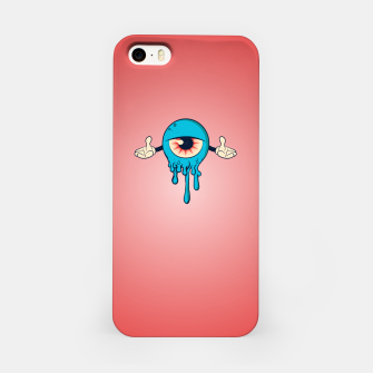 Thumbnail image of Blue Eye iPhone Case, Live Heroes