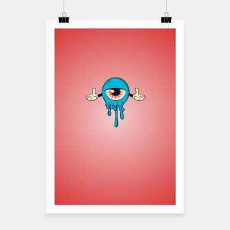 Thumbnail image of Blue Eye Poster, Live Heroes