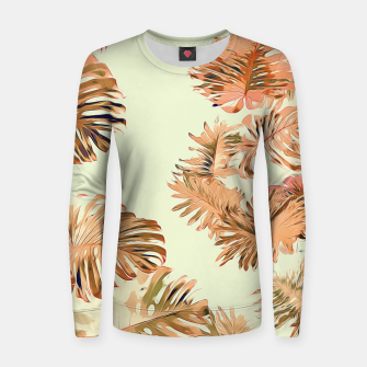 Thumbnail image of Stay Tropical Women sweater, Live Heroes